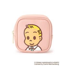 【コラボ】OSAMU GOODS ポーチ (ピンク/ジャック)