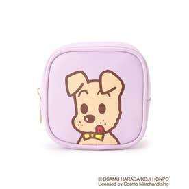 【コラボ】OSAMU GOODS ポーチ (ラベンダー/ドッグ)