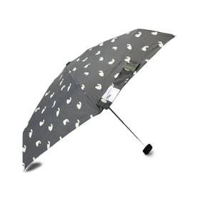 Wpc. キャッツミニ 折りたたみ傘 (チャコールグレー)