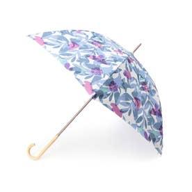 【Wpc.】ボタニカルガーデン長傘 (ブルー)