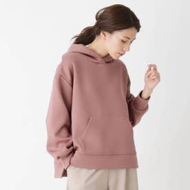 【M-LL】ダンボールニットパーカー (ピンク)