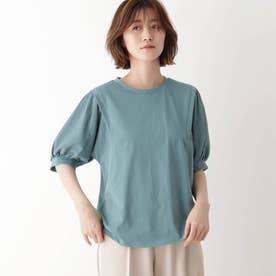 袖切替Tシャツ (グリーン)