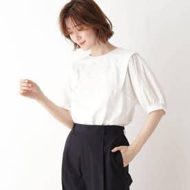 袖切替Tシャツ (オフホワイト)