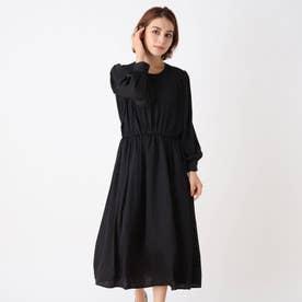 ◆【藤本美貴さん着用商品】ボザム切り替えワンピース (ブラック)