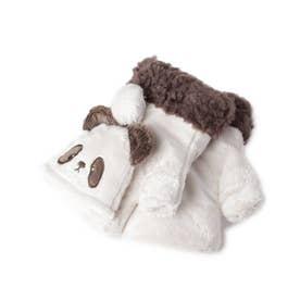 おもしろアニマル2WAY手袋 (パンダ/ブラウン)