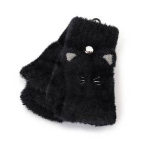 アニマルシャギー手袋 (ブラック)
