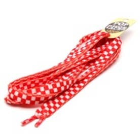 10mm CHEKER プリント (WHITE/RED)