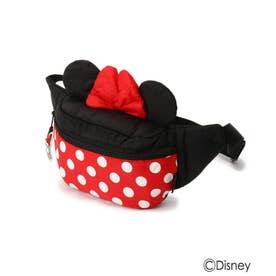 【Disney】耳つきボディバッグ (レッド)