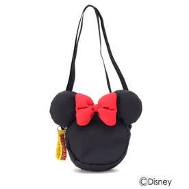 【Disney】耳つきポシェット (ミニーマウス)