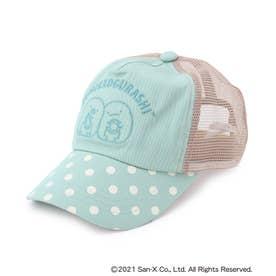 【すみっコぐらし】刺繍CAP (ライトグリーン)