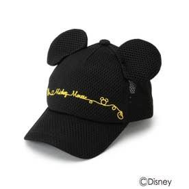 Disney/耳つきメッシュキャップ (ブラック)