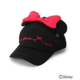 Disney/耳つきメッシュキャップ (レッド)