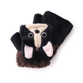 アニマルアソート手袋 (ブラック)