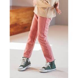 【90-120cm】カットコールパンツ (ピンク)