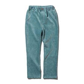 【90-120cm】カットコールパンツ (ライトグリーン)
