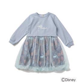 【Disney/ディズニー】チュールバルーンワンピース (サックス)
