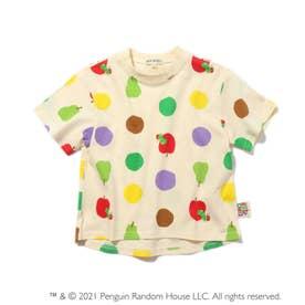 【はらぺこあおむし】ドットTシャツ (アイボリー)