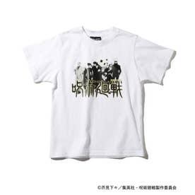 【呪術廻戦】コラボプリントTシャツ (アイボリー)