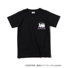 【鬼滅の刃】柱シルエットキッズTシャツ (ブラック)