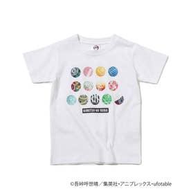 【鬼滅の刃】アイコンキッズTシャツ (アイボリー)