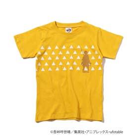 【鬼滅の刃】キャラクターモチーフTシャツ (イエロー)