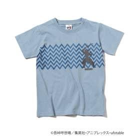 【鬼滅の刃】キャラクターモチーフTシャツ (ライトブルー)