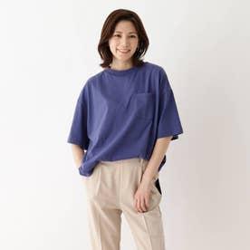 【つながる】赤い糸大人Tシャツ (ブルー)