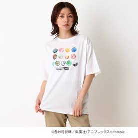【鬼滅の刃】アイコン大人Tシャツ (アイボリー)