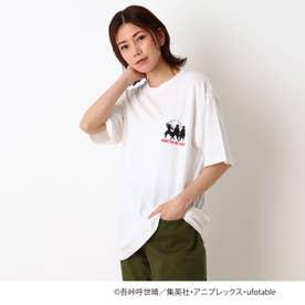 【鬼滅の刃】柱シルエット大人Tシャツ (アイボリー)