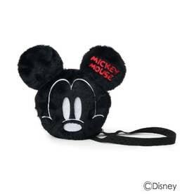 シューグー キッズ SHOO-LA-RUE(Kids) 【Disney】フェイス刺繍ポシェット (ブラック)