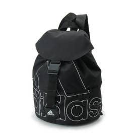 シューグー キッズ SHOO-LA-RUE(Kids) adidas ロゴデザインバックパック (ブラック)