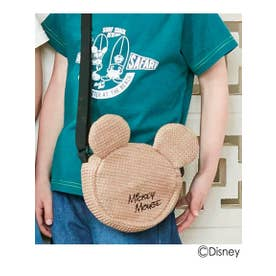 シューグー キッズ SHOO-LA-RUE(Kids) 【Disney/ディズニー】雑材ショルダーバッグ (タバコブラウン)