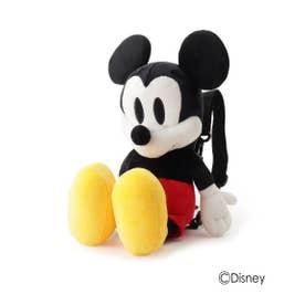 【Disney/ディズニー】ぬいぐるみリュック(ミッキーマウス&ミニーマウス) (ブラック(019))