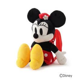 【Disney/ディズニー】ぬいぐるみリュック(ミッキーマウス&ミニーマウス) (レッド(062))