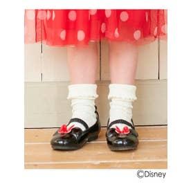 シューグー キッズ SHOO-LA-RUE(Kids) 【Disney/ディズニー】エナメルバレエシューズ (ブラック)