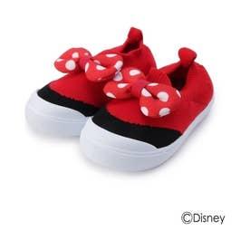 シューグー キッズ SHOO-LA-RUE(Kids) 【Disney】スリッポン (レッド)