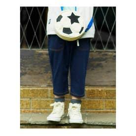 シューグー キッズ SHOO-LA-RUE(Kids) 【80-120cm】BIGポケット7部丈ストレートパンツ (ネイビー)