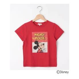 シューグー キッズ SHOO-LA-RUE(Kids) 【Disney/ディズニー】プリントTシャツ (レッド)
