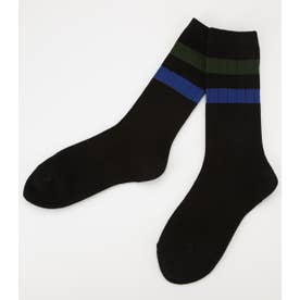 Line Socks BLK