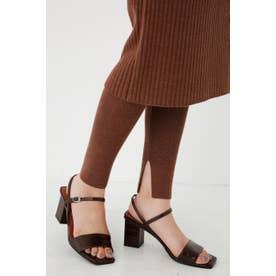 Knit Slim PT BRN