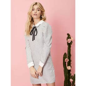 Spots and Stripes Rabbit Dress (SILVER)
