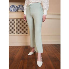 Sorbet Kick Flare Trousers (GREEN)