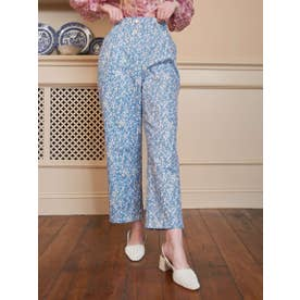 Camomile Petal  Peg Trousers (BLUE)