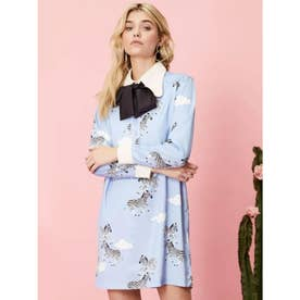 Head in the Clouds Shift Dress (BLUE)