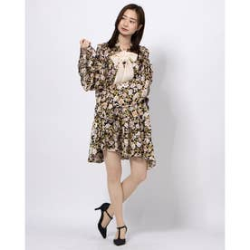 Belle Corsage Mini Dress (MULTI)