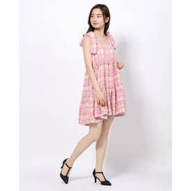 Prom Tweed Mini Dress (PINK)