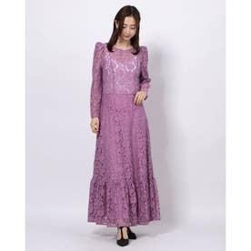 Sway Lace Midi Dress (LILAC)
