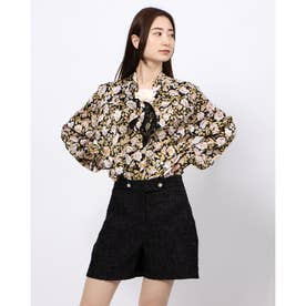 Belle Corsage Bow Blouse (MULTI)