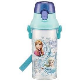 食洗機対応 直飲み ワンタッチ クリアボトル (アナと雪の女王19)