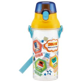 食洗機対応 直飲み ワンタッチ クリアボトル (プラレール19)